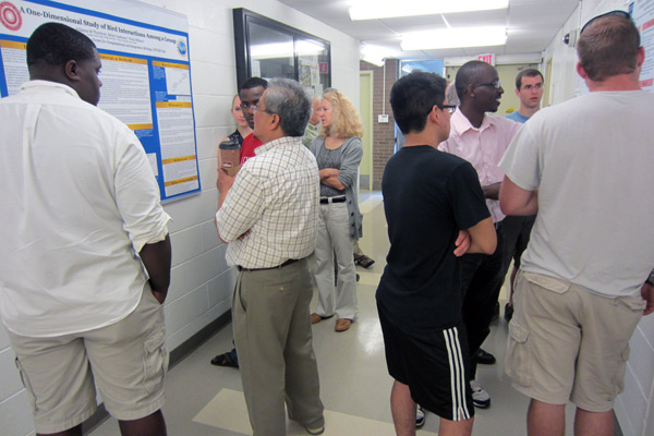 REU Poster Session in August 2013